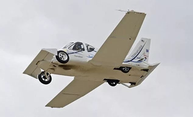 """В США начинается производство """"летающего автомобиля"""" Transition"""